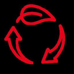 Vorteil umweltfreundlich und recycelbar