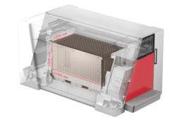 Technische Details der VX2000 von voxeljet