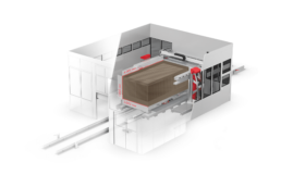 Technische Details der VX4000 von voxeljet