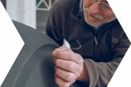 3D gedruckte Laminiervorlage von voxeljet