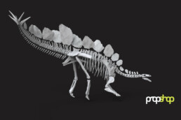 CAD-Daten eines Dinosauriers