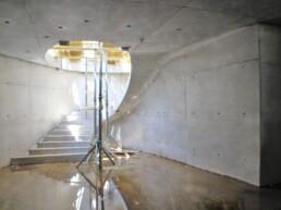 3D-gedruckte Betonschalung für Treppe von voxeljet