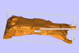 Kern CAD-Daten einer Fahrwerksschwinge von voxeljet