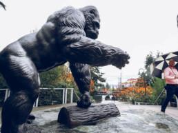 3D gedruckte Statue von voxeljet