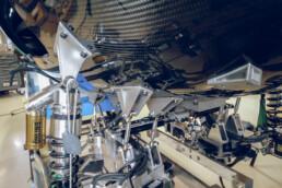 Hyperloop-Kapsel mit eingebauten, 3D gedruckten Bauteilen von voxeljet