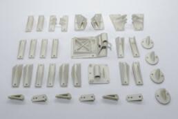 3D gedruckte PMMA Modelle von voxeljet