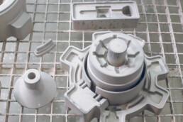 3D gedruckte und infiltrierte Sandformen von voxeljet