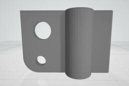 CAD-Daten von Kabelklemme von voxeljet