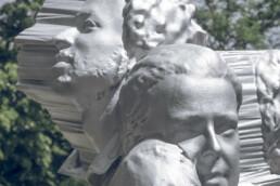 3D gedruckte Skulptur von voxeljet