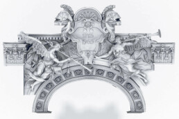 CAD-Datei des Denkmals von voxeljet
