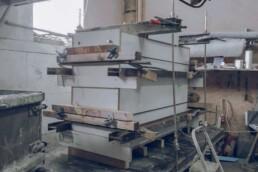 Schalung für Beton Firmenstein von voxeljet