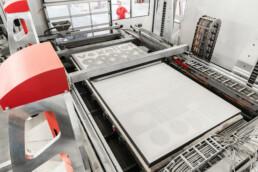 Druckprozess der vx4000 von voxeljet