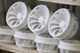 Additive Kunststoff Back-Up Produktion von voxeljet