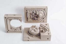 3D gedrucktes Getriebegehäuse von voxeljet