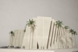 3D gedrucktes Architektur Modell von voxeljet