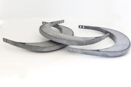 3d gedruckte polymer Halterung von voxeljet