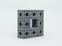 3D gedrucktes Rechteck aus PP von voxeljet