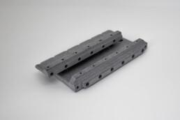 3d gedruckte Kabelhalterung von voxeljet