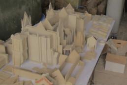 3D Architekturmodell aus Kunststoff von voxeljet