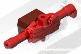 CAD-Datei des Radträgers