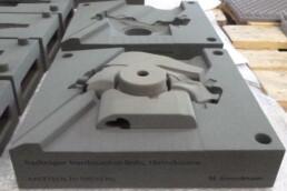 3D gedruckte Sandgussform