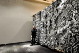 3D gedruckte Kunststoff Wand