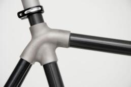 3d gedrucktes Fahrradbauteil von voxeljet