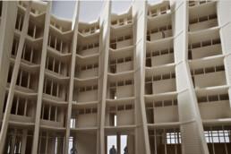 3D gedrucktes Architekturmodell voxeljet