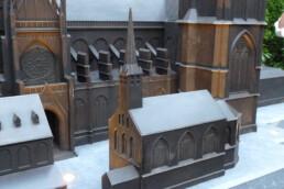 Architekturmodell aus Bronze von voxeljet