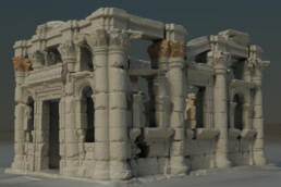 3D Scann einer Ausgrabung