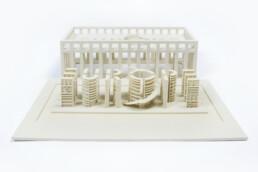 3D gedrucktes EU-Parlament von voxeljet