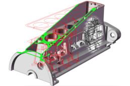 3D Feingussform für Serchszylinder von voxeljet