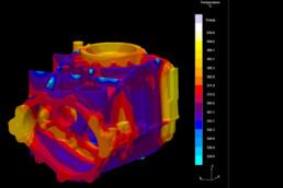 3D Druck Abguss verhalten von voxeljet