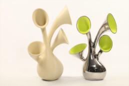 3D gedruckte Puja  Lampe von voxeljet