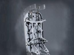 3D gedruckte Flugzeugtüre von voxeljet