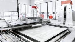 3D-Druckverfahren auf der VX4000 von voxeljet