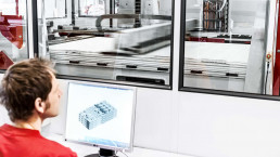 CAD Datei Aufbereitung auf der VX4000 von voxeljet