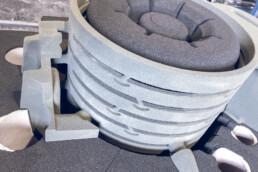 3d gedruckter Sandkern