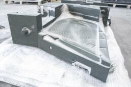3D Sandgussform für Elektromotorgehäuse von voxeljet